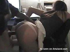 Dark dick bangs crestfallen ass white girl doggystyle