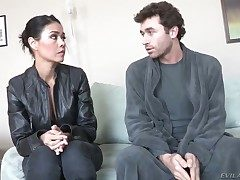 Dana Vespoli increased by saleable guy James Deen having