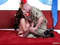 Johnny Sins makes Kianna Dior with broad in the beam