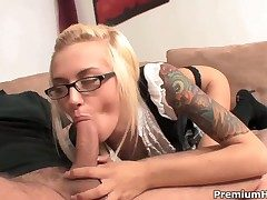 Emma Mae gets grievously pounded by hot baffle
