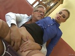 Jessie Volt is wet as the gobs in anal instalment