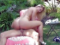 Cheating bootylicious blonde milf Devon Lee with big enduring jugs