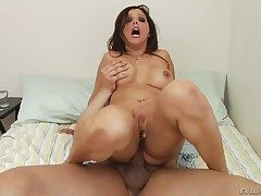 Anthony Rosano makes Chicana Francesca Le gag insusceptible to