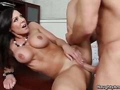 Kendra Lust is on the edge of skies with