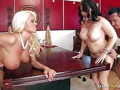 Casey Cumz and Nikita Von James are sinfully dispirited wives