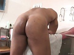 Robert Axel plays with moist dote on chasm of
