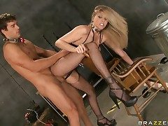 Julia Ann with juicy udders BJ's Ramons