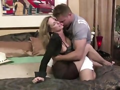 Milf Jodi West Convinces Youthful Dude To Fuck Her