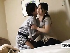Subtitle Japanese cougar hand-job motel rubdown gone wrong